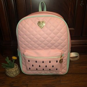 Betsey Johnson Bags - 🎒Betsey Johnson Watermelon Backpack🍉